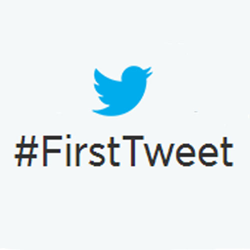 Nuestro primer tweet... qué tiempos aquellos