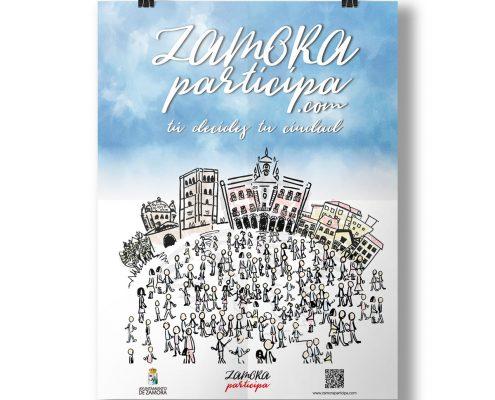 Zamora Participa: cartel