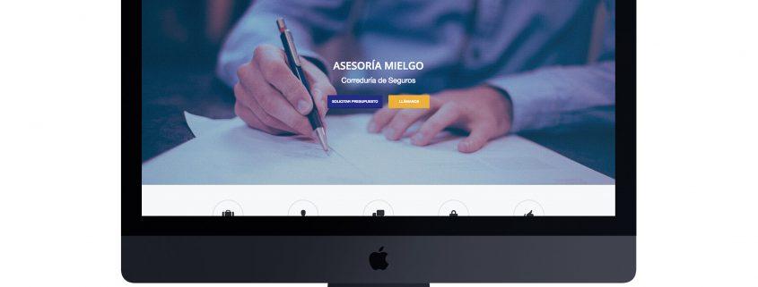 Web Asesoría Mielgo