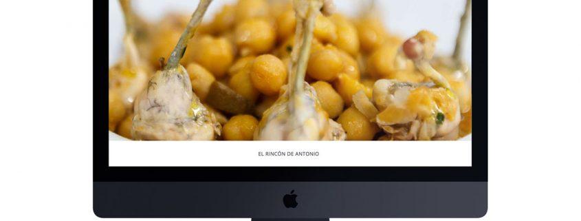 Web El Rincón de Antonio