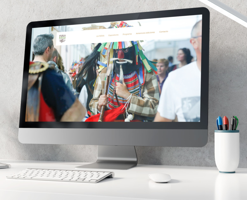 Web Feria Raíces