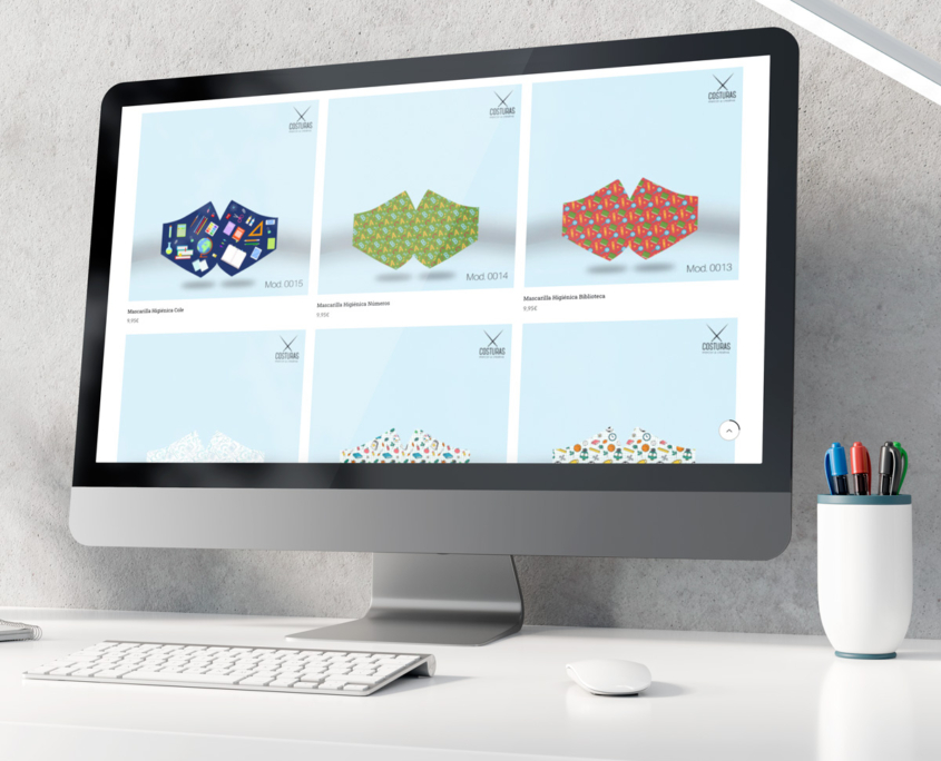 Web Mercería Costuras