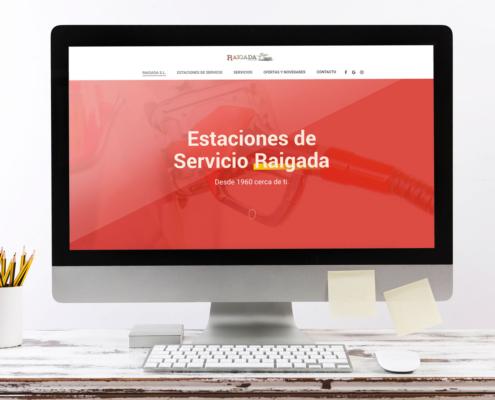 Web Estaciones de Servicio Raigada