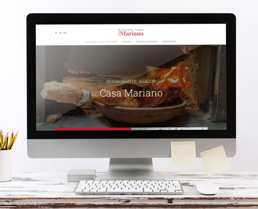 Web Asador Casa Mariano