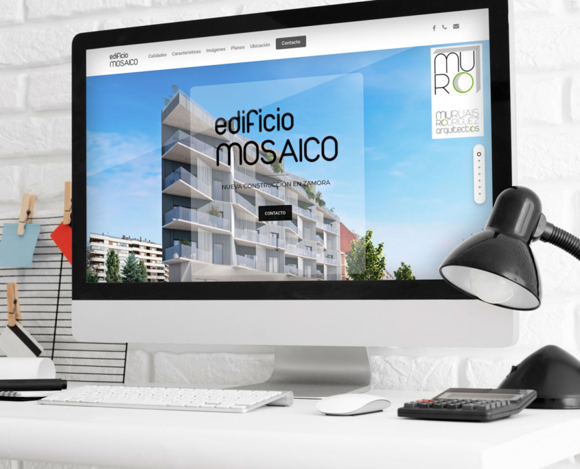 Web Edificio Mosaico
