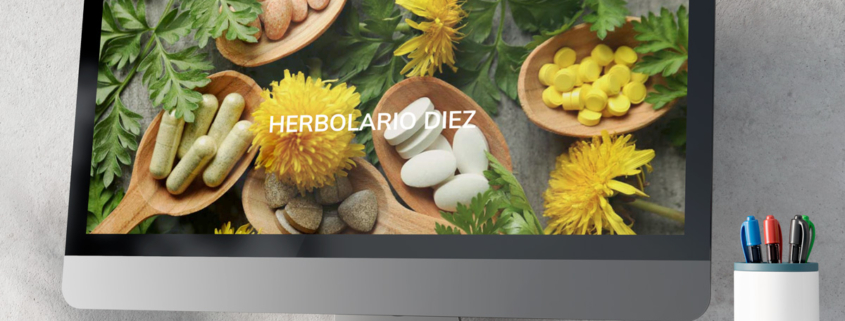 Web Herbolario Díez