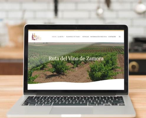 Web Ruta del Vino de Zamora